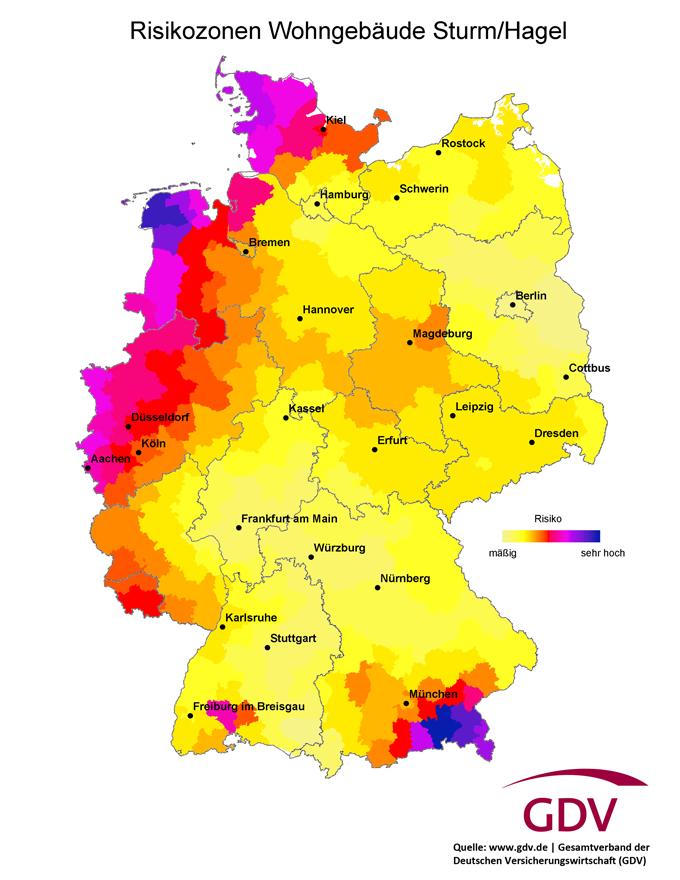 GDV-Risikozonen-Sturm-Hagel-Infografik