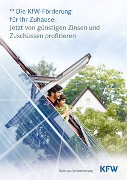 KfW Broschüre – für Ihre Finanzierungsplanung informative und kostenlose Tipps